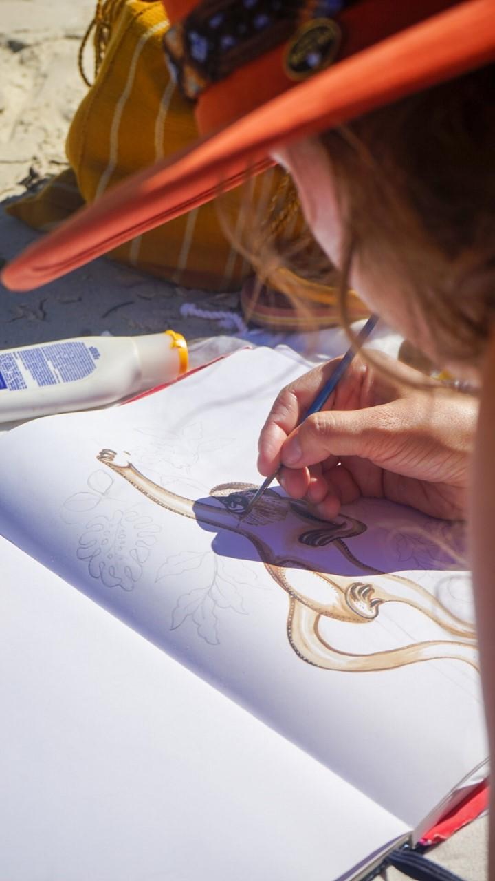 Gonda painting - A la Gonda