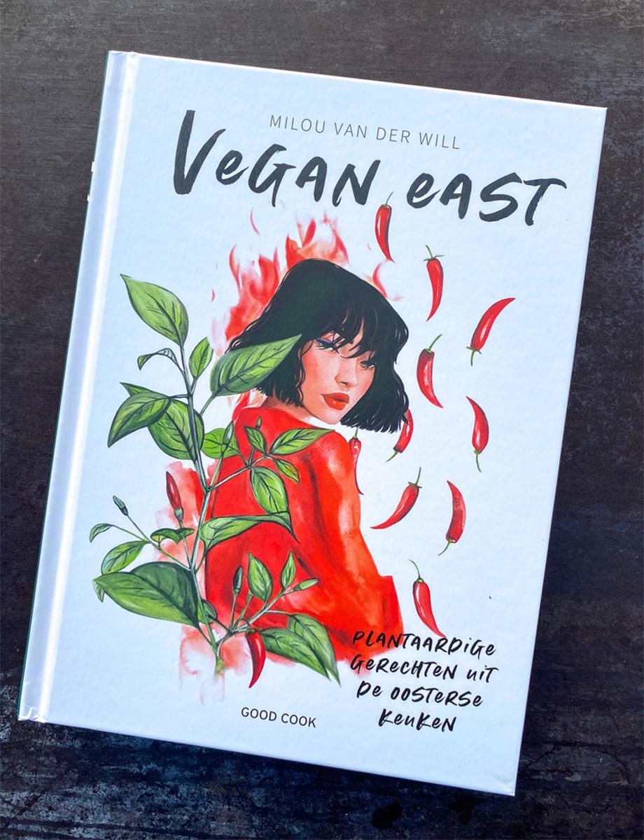 vegan-east-cover-pittig-illustratie-alagonda